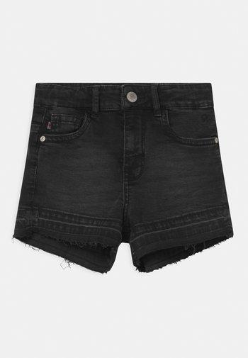 HAWA  - Jeans Shorts - black denim