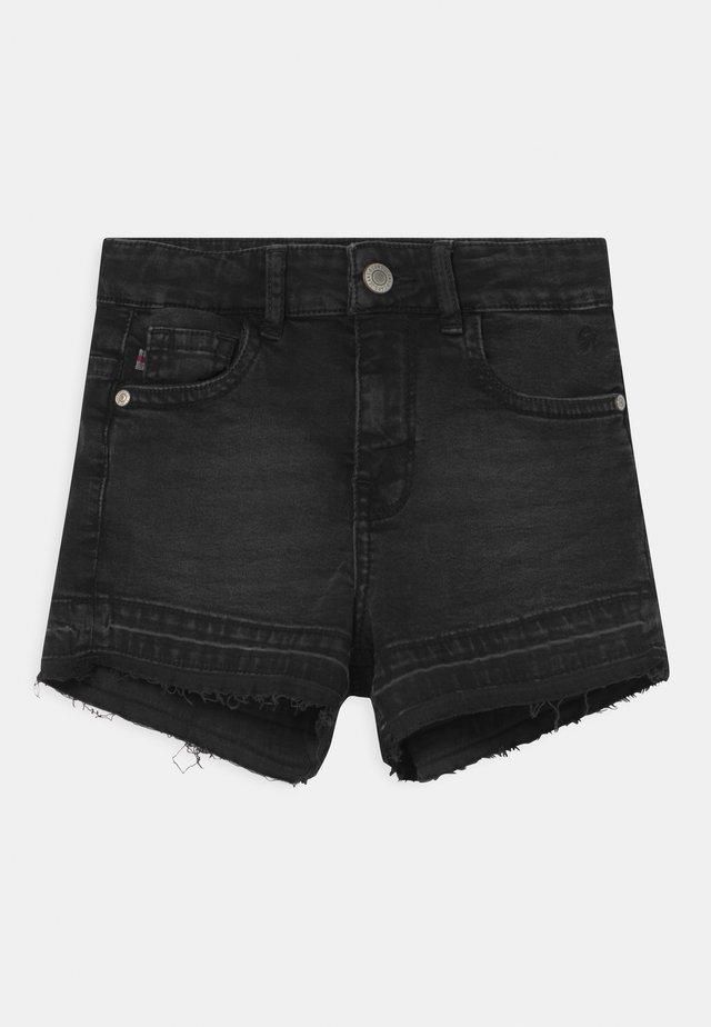 HAWA  - Jeansshort - black denim