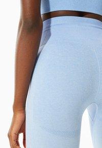 Stradivarius - Leggings - Trousers - light blue - 2