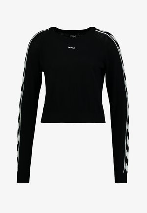 CECILIA - Pullover - black