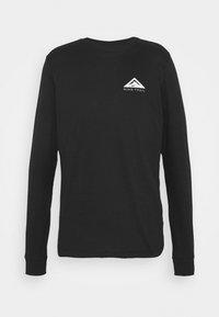 Nike Performance - DRY TEE TRAIL - Camiseta de manga larga - black - 3