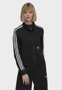 adidas Originals - ORIGINALS PRIMEBLUE TRACK SLIM - Giacca sportiva - black - 0