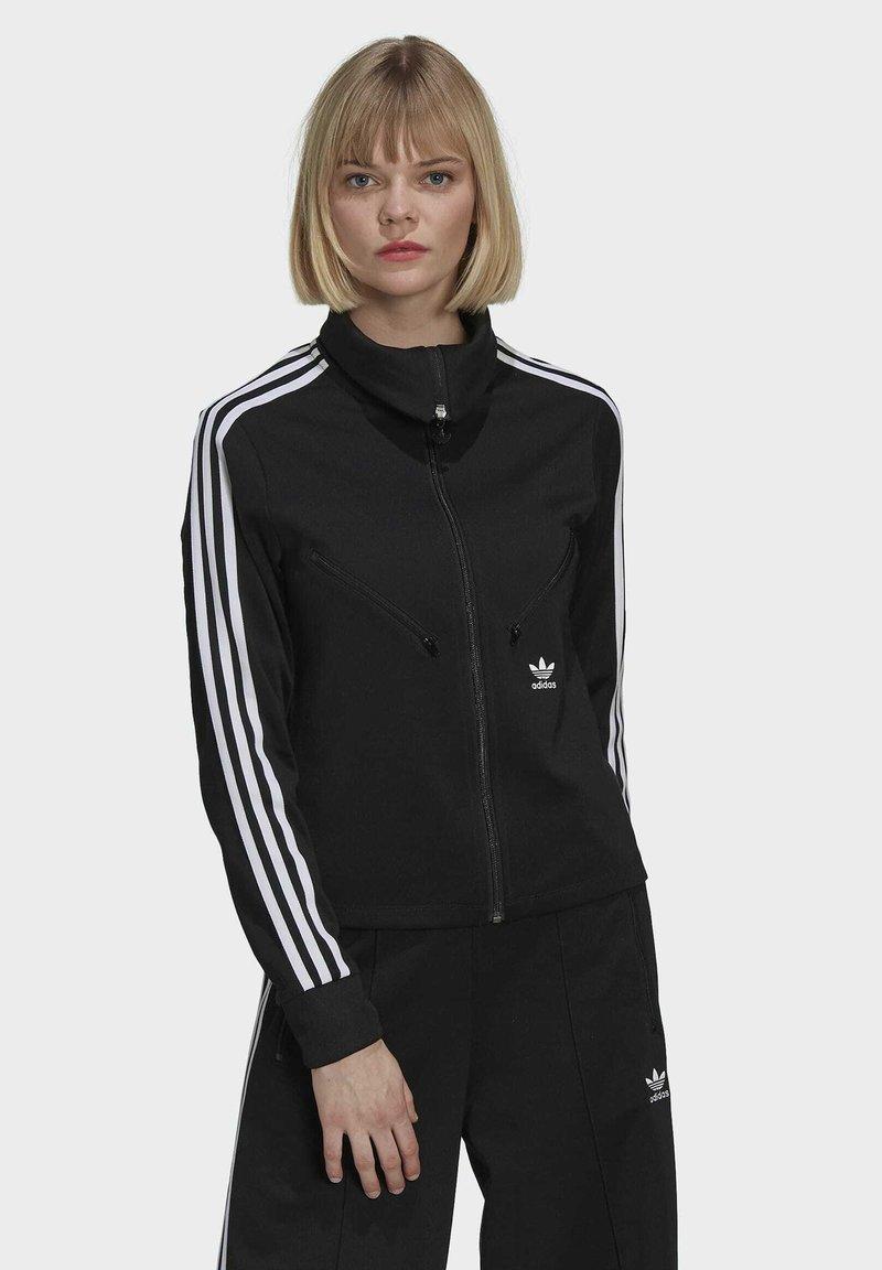 adidas Originals - ORIGINALS PRIMEBLUE TRACK SLIM - Giacca sportiva - black