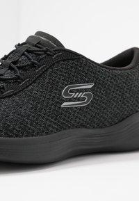 Skechers - ENVY - Mocasines - black/charcoal - 2