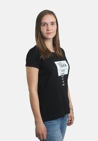 Platea - Print T-shirt - schwarz - 2