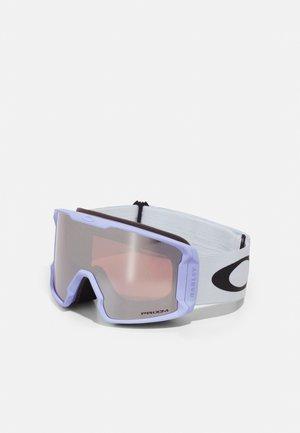LINE MINER L UNISEX - Ski goggles - purple/snow black