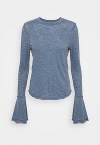 Free People - CECELIA TEE - Long sleeved top - sparkling indigo - 4