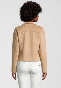 Rino&Pelle - Faux leather jacket - tan - 1