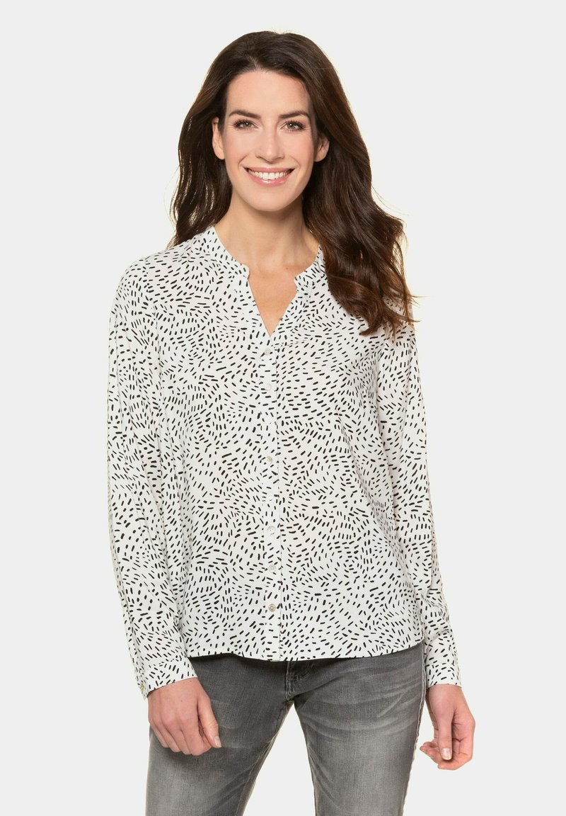 GINA LAURA - Button-down blouse - offwhite