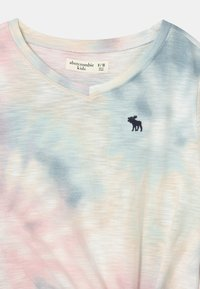 Abercrombie & Fitch - KNOT FRONT  - T-Shirt print - pink - 2