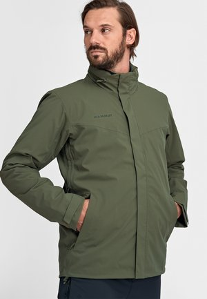 TROVAT 3 IN 1 - Outdoor jacket - iguana-woods