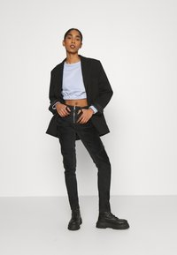 Diesel - SLANDY-BKX-H-SP - Jeans Skinny Fit - black velvet - 1