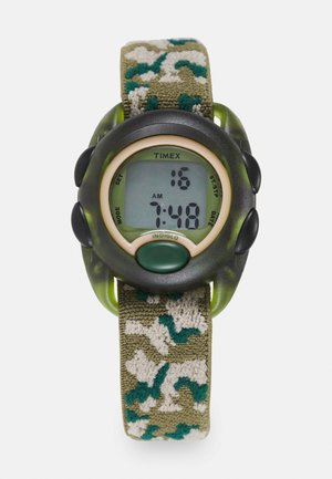 KIDS DIGITAL CAMOFLAUGE UNISEX - Digitální hodinky - green
