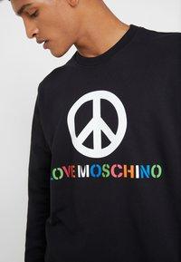 Love Moschino - Sweatshirt - black - 4