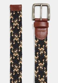 Esprit - Braided belt - navy - 2