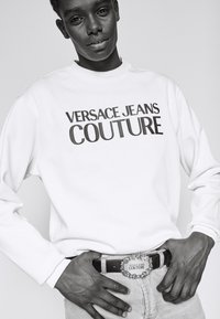 Versace Jeans Couture - Skärp - black/gold-coloured - 1