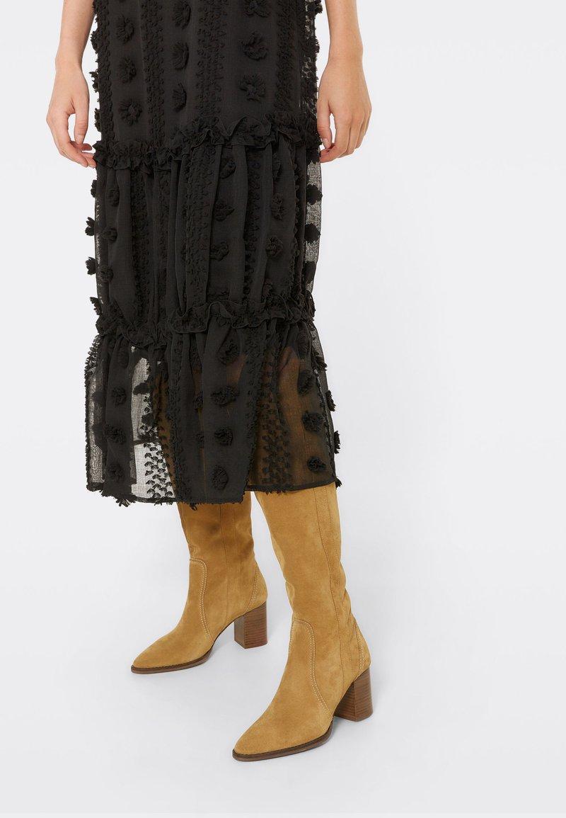 Uterqüe - Boots - brown