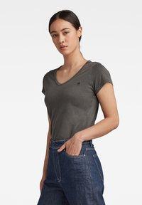 G-Star - EYBEN  SLIM - Basic T-shirt - raven - 2