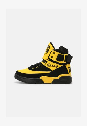 33 HI - High-top trainers - black/dandelion