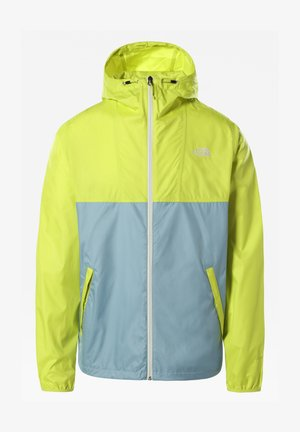 M CYCLONE JACKET - Outdoorjacka - sulphurspringgrn/trmlnblu
