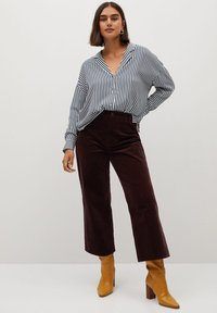Violeta by Mango - STRIPES - Button-down blouse - blue - 1