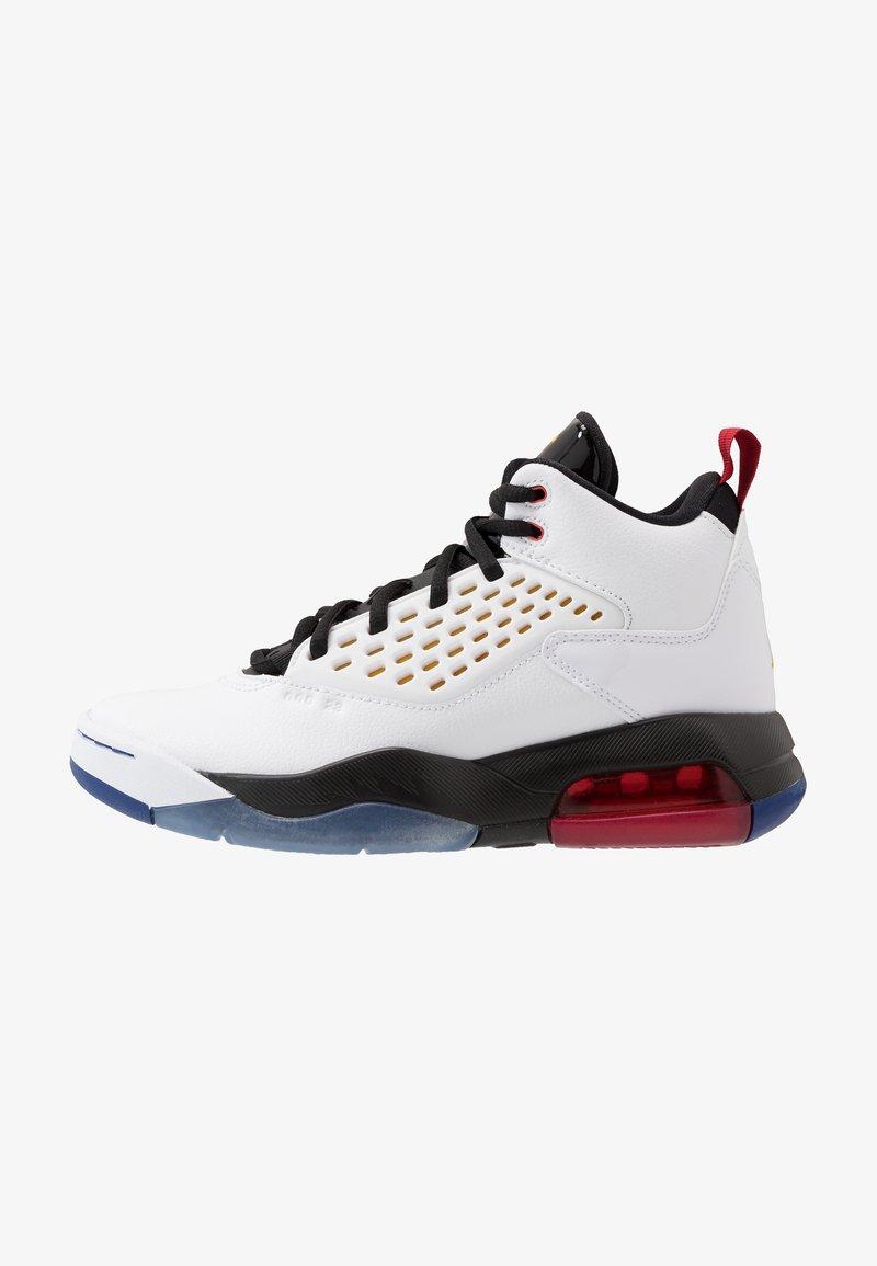 Jordan - MAXIN 200 - Basketbalové boty - white/dark sulfur/black/deep royal blue/gym red