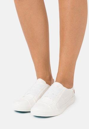 VEGAN MARLEY - Slip-ons - white