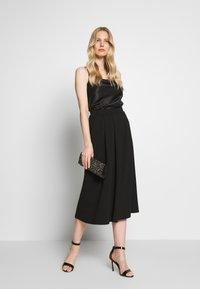 Anna Field - BASIC - A-line skirt - black - 1