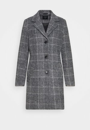 EVA CHECK COAT - Kåpe / frakk - grey