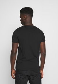 TOM TAILOR DENIM - Print T-shirt - black - 2