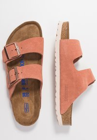 Birkenstock - ARIZONA - Slippers - earth red - 3