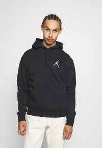 Jordan - JUMPMAN AIR - Sweat à capuche - black/(white) - 0