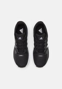 adidas Performance - RUNFALCON 2.0 UNISEX - Neutral running shoes - core black/footwear white/silver metallic - 3