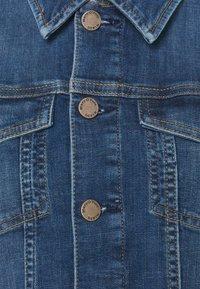 Marc O'Polo DENIM - JACKET REGULAR LENGTH PATCHED POCKETS - Denim jacket - multi/true indigo mid blue - 5