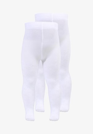 SCHLEIFEN BABY 2 PACK - Panty - weiss