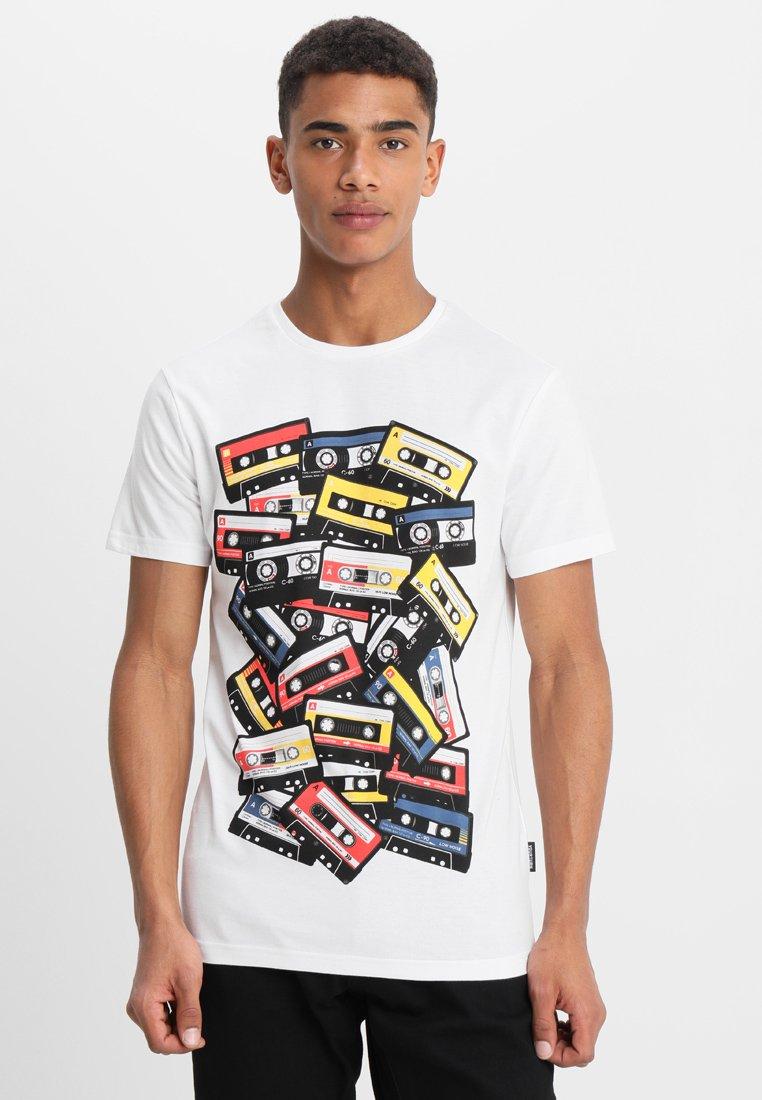 YOURTURN - Print T-shirt - white/multicoloured