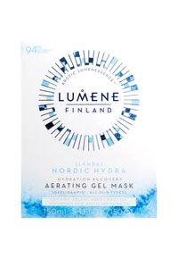Lumene - NORDIC HYDRA [LÄHDE] HYDRATION RECOVERY AERATING GEL MASK - Face mask - - - 2