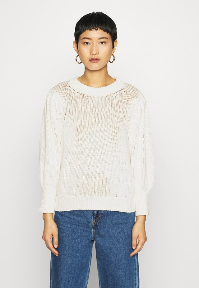 MYNTE ONECK - Pullover - antique white