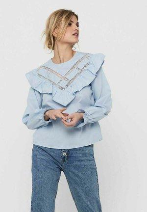 Blouse - cashmere blue