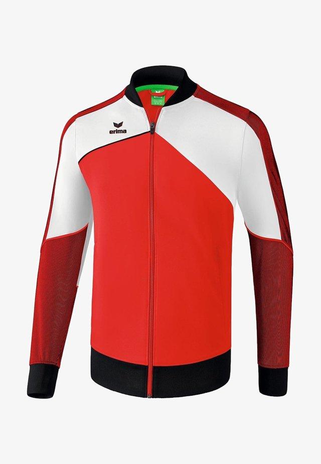 Laufjacke - red / white / black