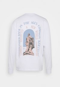 Common Kollectiv - UNISEX GENERATION TEE - Long sleeved top - white - 1