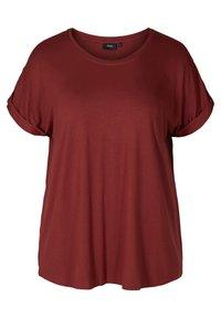 Zizzi - Basic T-shirt - red - 1