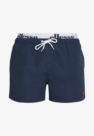 TEYNOR - Shorts da mare - navy/white