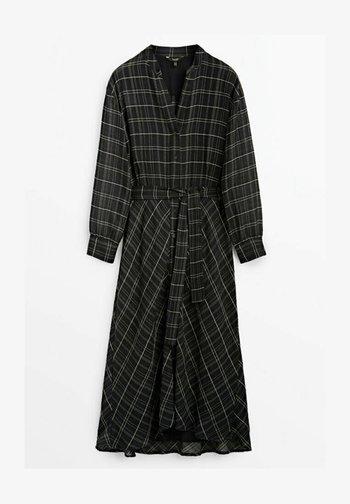 KARIERTES - Maxi dress - black