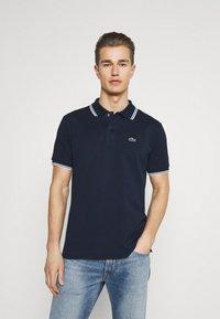 Lacoste - Polo shirt - navy blue/white - 0