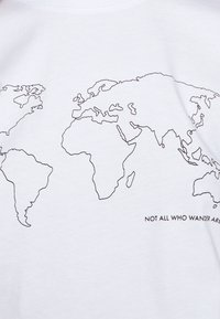 Even&Odd - T-shirt z nadrukiem - white - 4