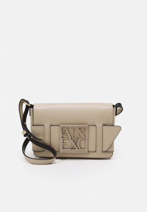 SMALL CROSS BODY WOMANS  - Across body bag - cashmere
