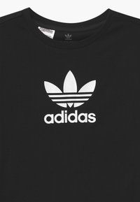 adidas Originals - TEE UNISEX - Camiseta estampada - black/white - 2