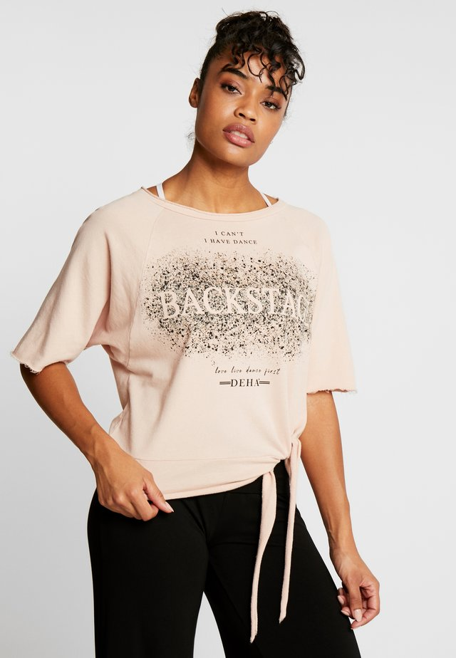 MANICA CORTA - Sweatshirt - rosa