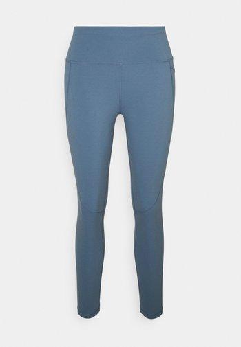 POWER WORKOUT 7/8 LEGGINGS - Punčochy - steel blue